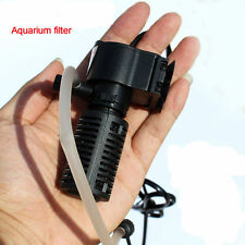 Fish Tank Mini Black 3 in1 Internal Filter £7.99 UK PLUG 24HR DISPATCH FROM UK