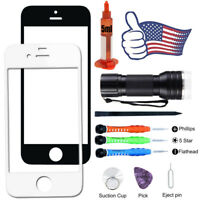 For iPhone 5 5S SE Front Touch Screen Glass Replacement Lens Repair Tools Kits