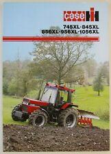 prospectus brochure tracteur CASE IH 745 845 856 956 1056 XL tractor traktor