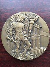 Beautiful antique bronze medal Made by Vasco Berardo