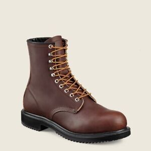 Men's RED WING 2233 Brown Leather Sport Work Boots Size 13-EEE US