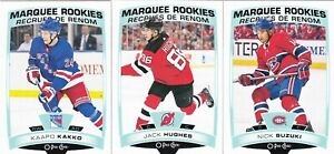 OPC O-Pee-Chee 2019-20  Complete Update Set with rookies (601-650)