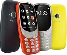 Nokia 3310 2017 Blue Black Yellow Red Single Sim Unlocked Smartphone 2g