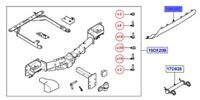 LAND ROVER GENUINE PART-COVER TOWING HOOK OPENING-New Range Rover Sport (L494)
