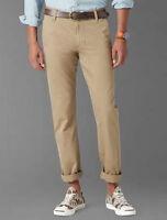 Dockers Alpha Khaki  Slim-Fit Flat-Front Tapered Leg Pants NWT 100% Cotton