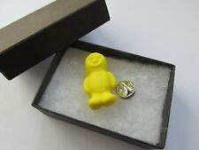 Handmade Fimo Yummy Yellow Jelly Baby Sweets Sweet Brooch Pin - Boxed 12674Y