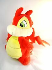 "Neopets Scorchio 11"" Plush Red Dragon Interactive Children's Toy Talks & Shakes"