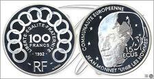 Francia - Monedas Conmemorativas- Año: 1992 - numero KM01012 - PROOF 100 Francos