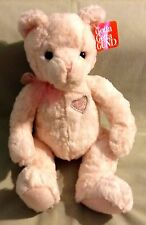 STANDING 12 INCH SITTING 9 INCH GUND PINK AMORE  BEAR  NWT