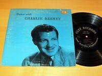 "10""LP CHARLIE BARNET Dance With Charlie Barnet CLEF MGC-139 VG & VG++"