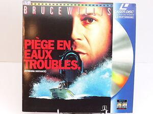 LASERDISC - PIEGE EN EAUX TROUBLES / BRUCE WILLIS