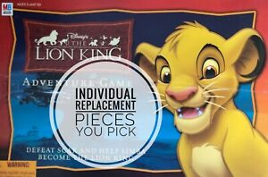 Disney The Lion King Adventure Board Game Replacement Pieces - You Pick