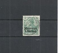 DAP, MAROKKO, 1903 Michelnummer: 8 II o, gestempelt o, Katalogwert € 15,00