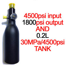 Paintball Tank Diving HPA High Compressed Bottle Cylinder 0.2L 30MPA regulator