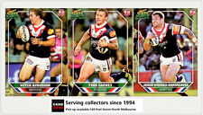 2011 Select NRL Champions Trading Cards Base Team Set Roosters (12)