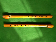 Whistle in D, handmade cherrywood,woodwind instrument