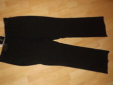NEXT BLACK TAILORED TROUSERS SIZE 8L 8 LADIES BNWT RP £28 BOOTCUT L30