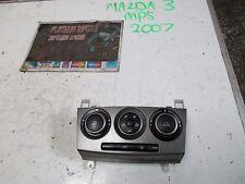 Mazda 3 MPS 2007 2.3 Turbo Aero interior unidad de consola de control del calentador