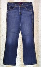 Gloria Vanderbilt Women's Denim Jeans Size 12 Blue color Double Button Invo: G63