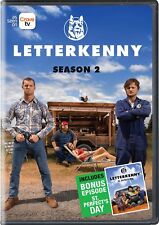Letterkenny - Season 2 Two [DVD Box Set Sitcom Jared Keeso Hockey Series TV] NEW