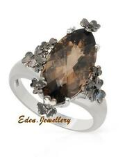 $330 FPJ Beautiful Cocktail Ring with 6.41ctw GENUINE Topaz 925 Sterling Silver