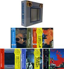 Uriah Heep look at Yourself JAPAN MINI LP 20 bitk 2 5 CD BOX + PROMO Obi 1st Press
