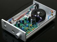Finished Single-ended class A headphone amp base on Naim amp circuit    L14-20