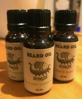 Ironside Beard Oil 100% Natural Organic Vegan Friendly 12 Scents in Australia