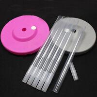 4Pcs Clear Plastic Sticks Pole for Balloon Arch Column Base Stand Party Decor TU