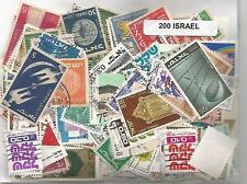 Lot 200 timbres d'Israel