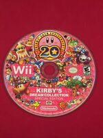 Kirby's Dream Collection Special Edition (Nintendo Wii, 2012) Disc Only Tested