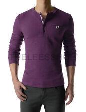 Long Sleeve Henley Big & Tall T-Shirts for Men
