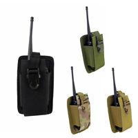 Tactical  Molle Walkie Holster Talkie Holder Waist Belt Bag Radio Pouch
