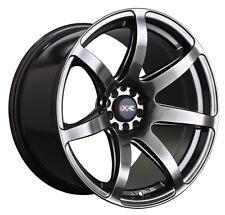 XXR 560 18x10 5x100/114.3 +20 Chromium Black Wheels Aggressive Fits Tc Xb Speed3