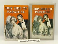THIS SIDE OF PARADISE First Edition Library Fitzgerald Collectors VINTAGE w/CASE