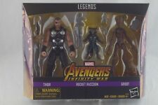New Marvel LEGENDS Avengers Infinity War THOR ROCKET GROOT Toys R Us Exclusive