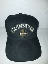 Black Guinness 1759 hat with Guinness 1759 On Front NEW