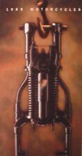1989 Harley Davidson Brochure Super Electra Glide Low Rider Sportster Softail