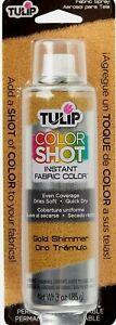 Tulip ColorShot Instant Fabric Color 3oz dyeing desing Spray Paint Multicolor US