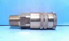 1/2 Inch Steel Universal Interchange Coupler Industrial Automotive 1/2 Male NPT