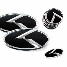 3D K Logo F R Steering Wheel Emblem 7p For 2016 2018 Kia Sorento