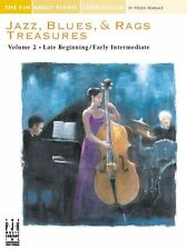 Jazz Blues & Rags Treasures Volume 2 Learn Play RAINY DAY BLUES Piano Music Book