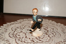VINTAGE....CERAMIC.....1950's BOY DANCING......FIGURINE.....JAPAN