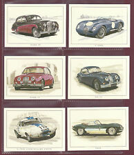 STOCK CLEARANCE  -  100  BEAUTIFUL  SETS  OF  L 13  JAGUAR  CARDS  - ONLY  £ 95