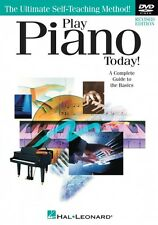Play Piano Today DVD Revised Edition DVD NEW 000119617