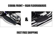 NEW COBRA FRONT AND REAR FLOORBOARDS 97-03 HONDA VALKYRIE 1500 GL1500C