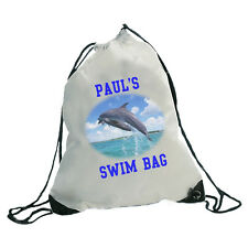 PERSONALISED GYM SPORTS SWIM BAG - ANY PHOTO ANY TEXT