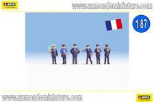 6 Agents des Chemins de fer Français-ho-1/87-noch 15269