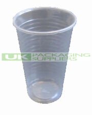 1000 SMALL 7oz 190ml CLEAR PLASTIC DISPOSABLE CUPS GLASSES PARTY WATER DISPENSER