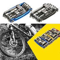 11 in 1-Bicycle Hex Spoke Wrench Screwdriver Bike Repair Tool Multi Function Kit